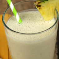 Banana Mocha Smoothie - It Is a Keeper S