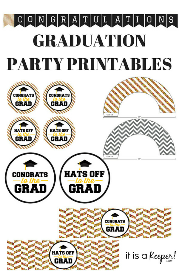 Graduation Party Printables - It Is a Keeper