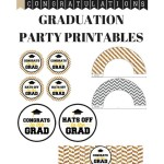 Graduation Party Printables