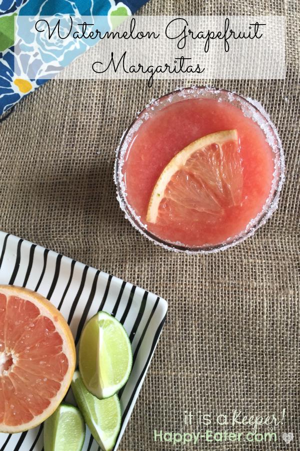 watermelon grapefruit margarita HERO - it is a keeper