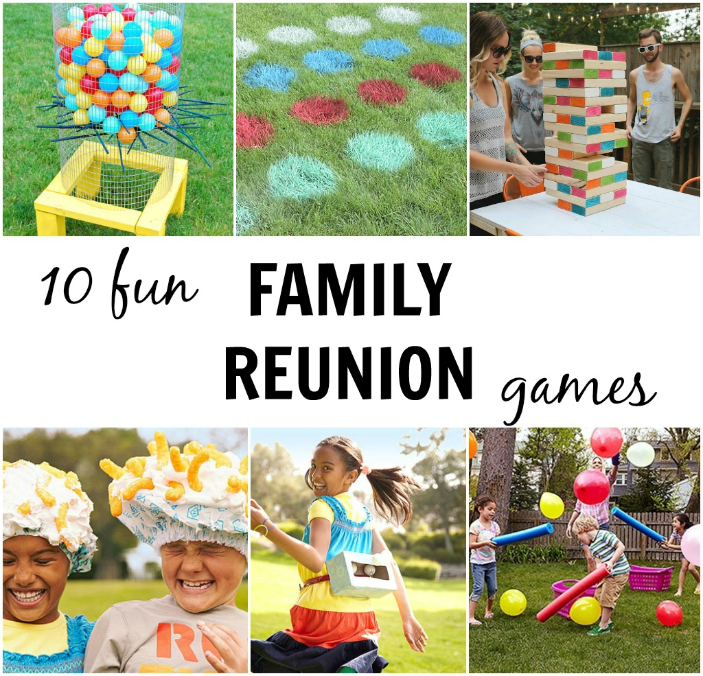 Family Activities: 10 Fun Family Reunion Games