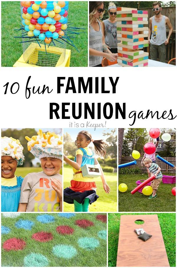 family reunion games list