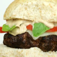 Balsamic Caprese Burger - It Is a keeper S