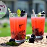 Blackberry Mint Lemonade