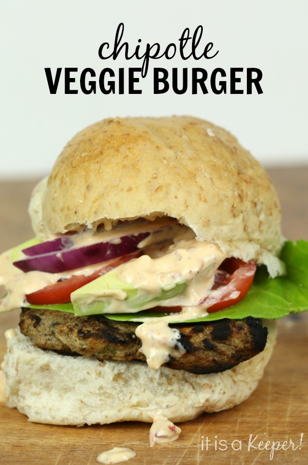 Chipotle Veggie Burger - It Is a Keeper