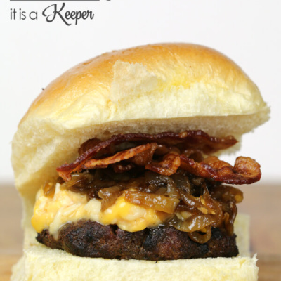 Lager Bacon Burger
