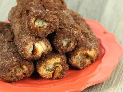 Nutella Cinnamon Roll Ups