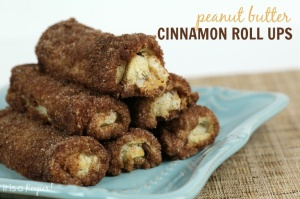 Peanut Butter Cinnamon Roll Ups - It is a Keeper