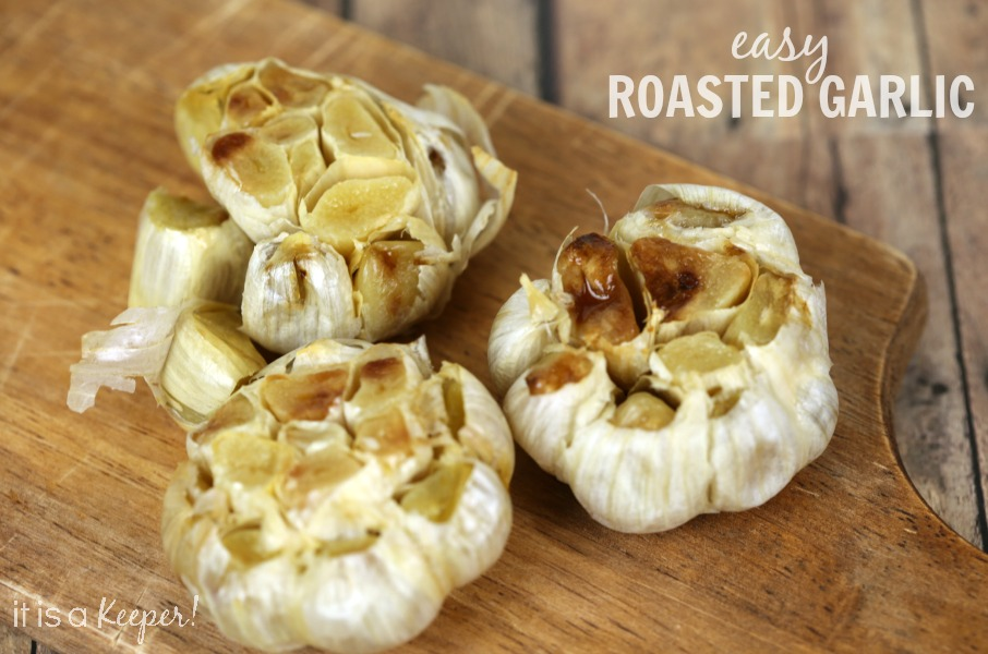 This easy roasted garlic recipe adds so much flavor to your favorite recipes.