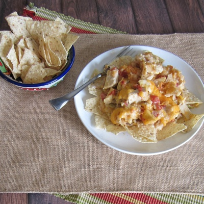 Slow Cooker King Ranch Chicken