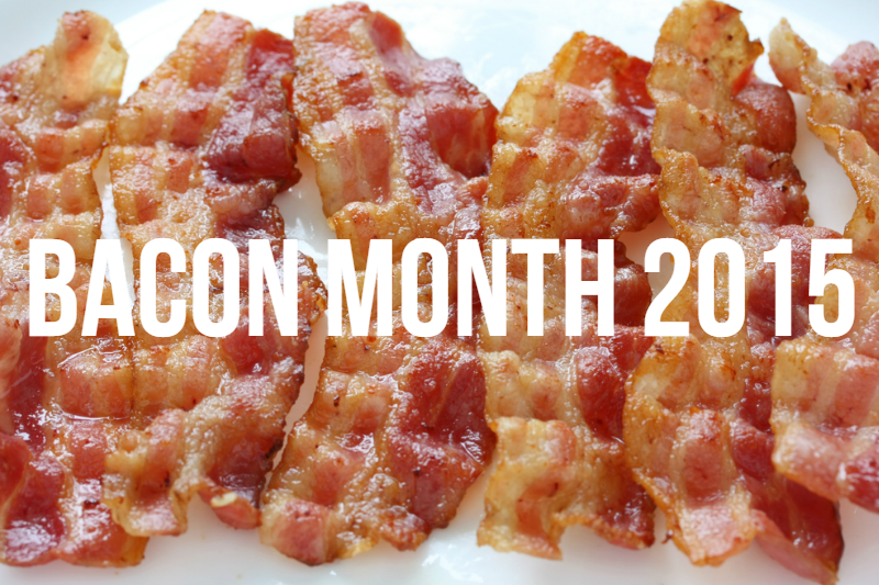 It's Bacon Month! Stop by itsakeeper.com for lots of bacon recipes!