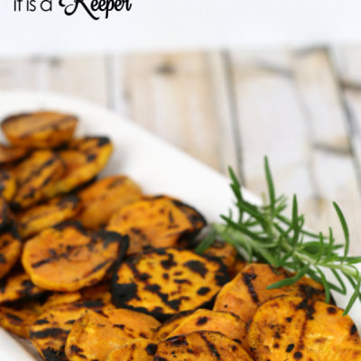 Grilled Rosemary Sweet Potatoes
