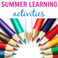 Summer Learning Activities - It Is a Keeper F
