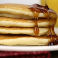 light and fluffy corn pancakes - it is a keeper F