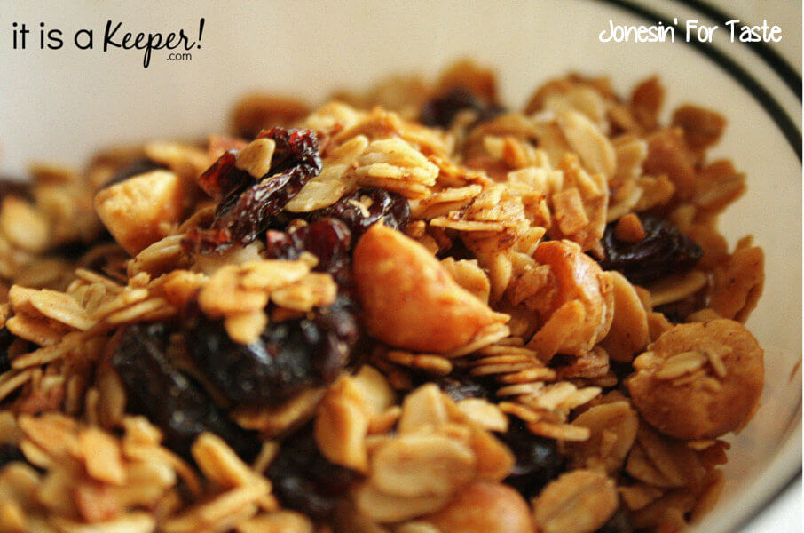 Cherry Macadamia Nut Granola | It Is a Keeper