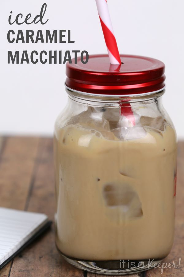 Easy Iced Caramel Macchiato that you can make at home