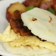 Gluten Free Breakfast Arepas - It Is a Keeper S