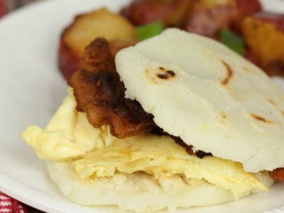 Breakfast Arepas