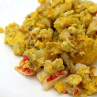 Lobster Dinner Scrambled Eggs
