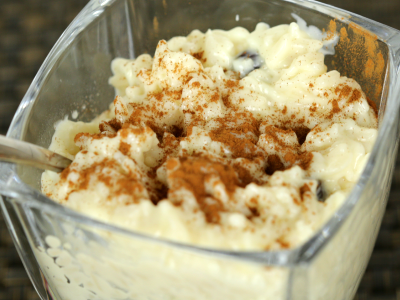5 Minute Rice Pudding