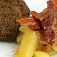 This easy Danish Apples and Bacon recipe is layer upon layer of flavor S