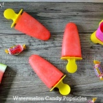 Watermelon Candy Popsicles | It Is A Keeper