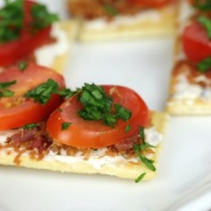 Easy Healthy Snack Ideas Easy BLT Bites