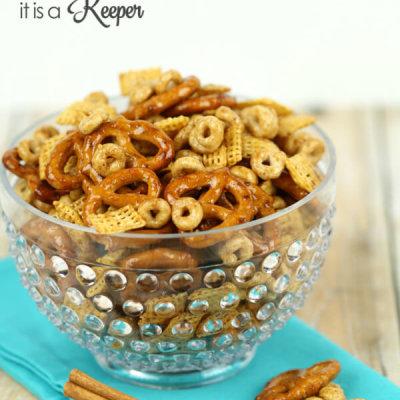 Honey Cinnamon Snack Mix