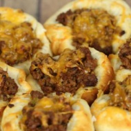 This recipe for quick and easy sloppy joe puffs has become one of my son's favorite dinners S