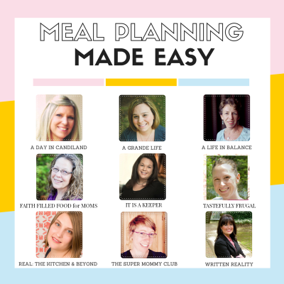 {WK 91} Meal Planning: Weekly Easy Recipes
