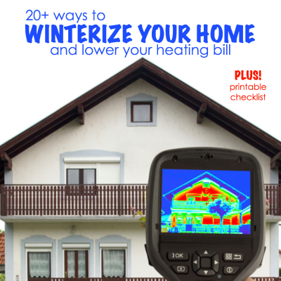 Winter Energy Saving Plan (free printable)
