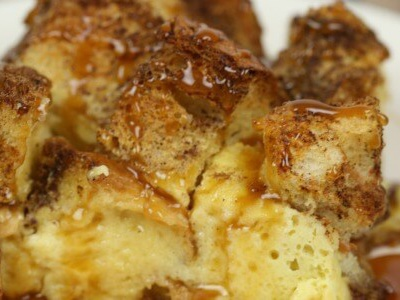 Dulce de Leche French Toast Casserole