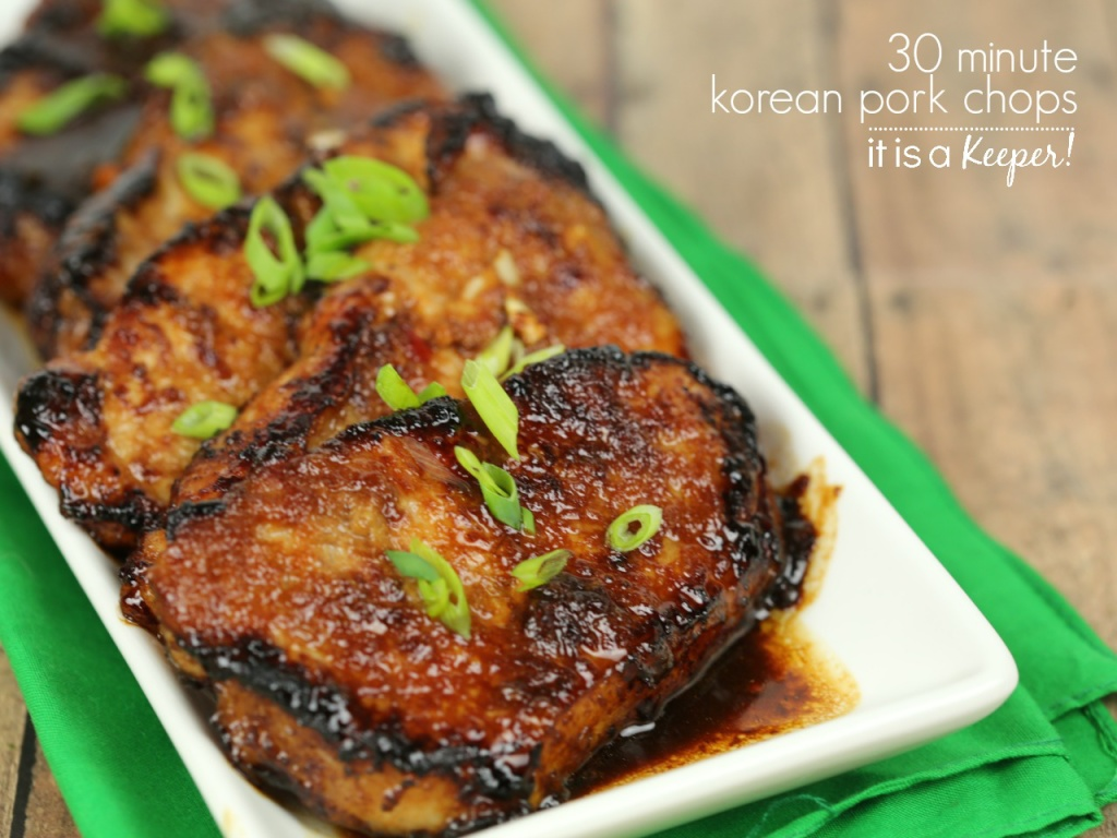 Korean Pork Chops – An Easy And Delicious Dinner Recipe That's Ready In  Under 30 Minutes