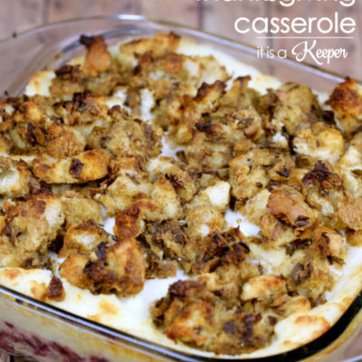 Leftover Thanksgiving Casserole