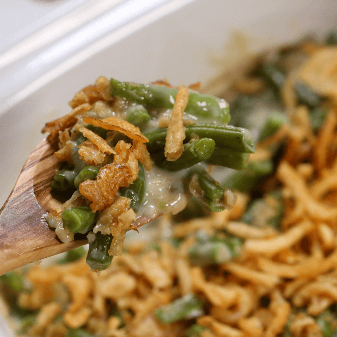 Crockpot Green Bean Casserole - Easy Crockpot Recipe