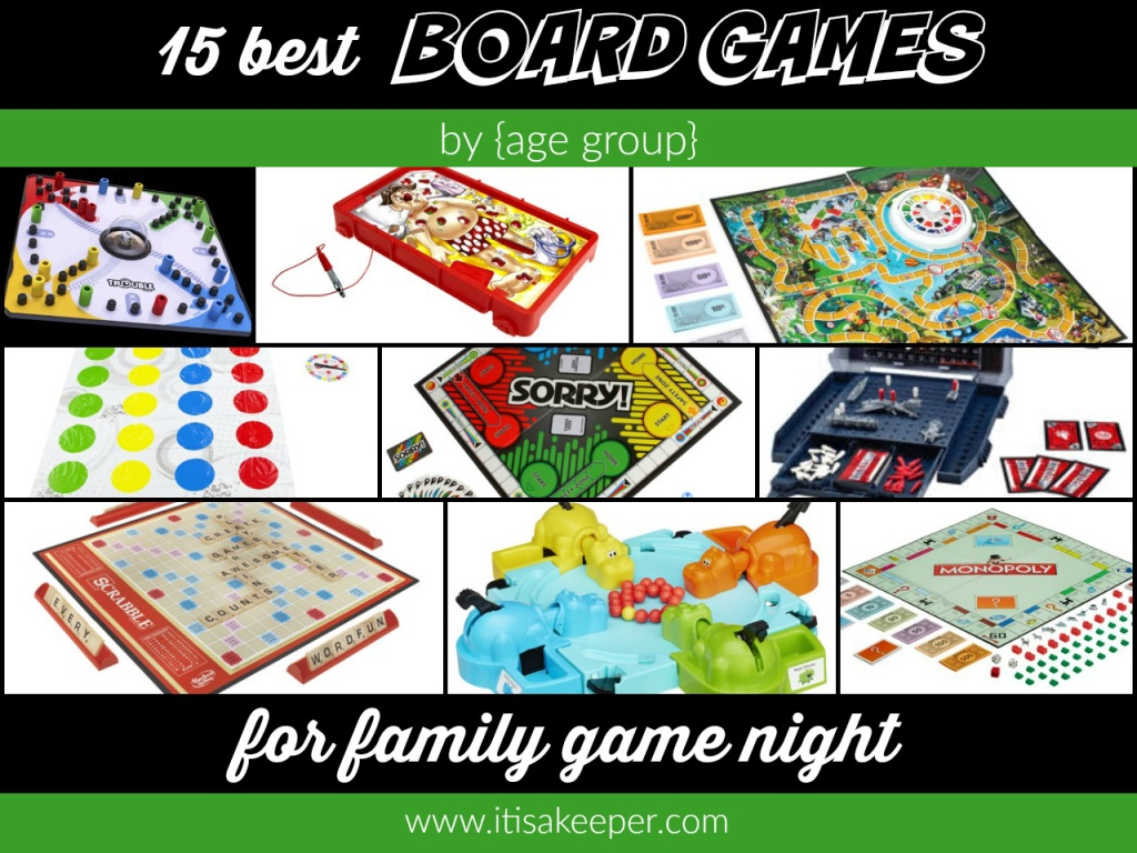 15 Best Board Games for Family Game Night