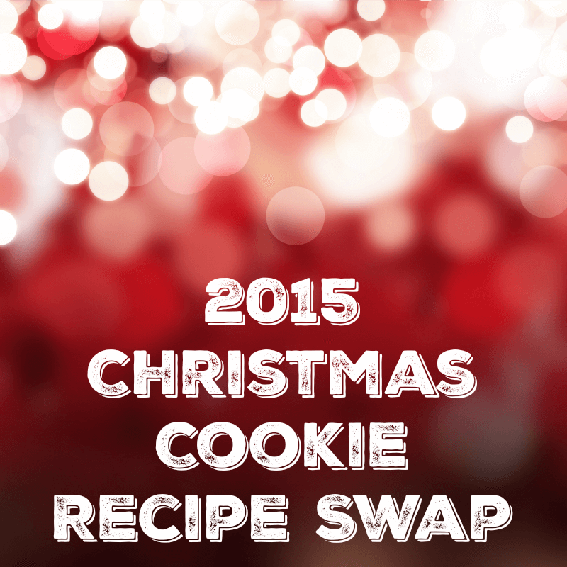 2015 Christmas Cookie Recipe Swap