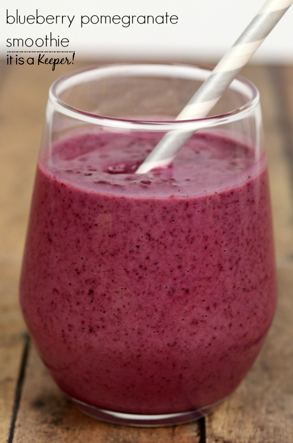 ... Pomegranate Smoothie – a healthy and delicious smoothie recipe