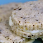 Lemon Pecan Sandwich Cookies