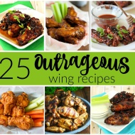 25 Outrageous Wing Recipes - Whether you like a lot of spice or no spice at all, there is something for everyone in this collection F