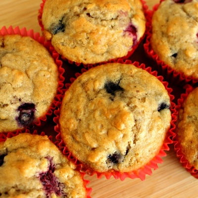 Berry Morning Muffins