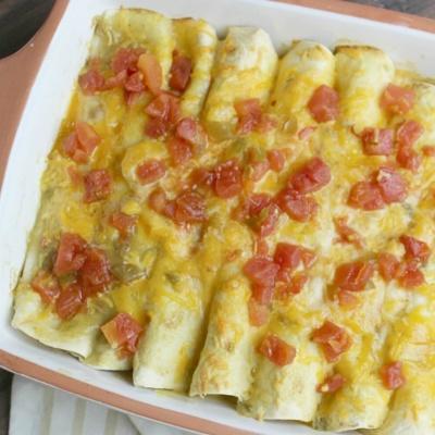 Chicken Enchiladas Freezer Meal