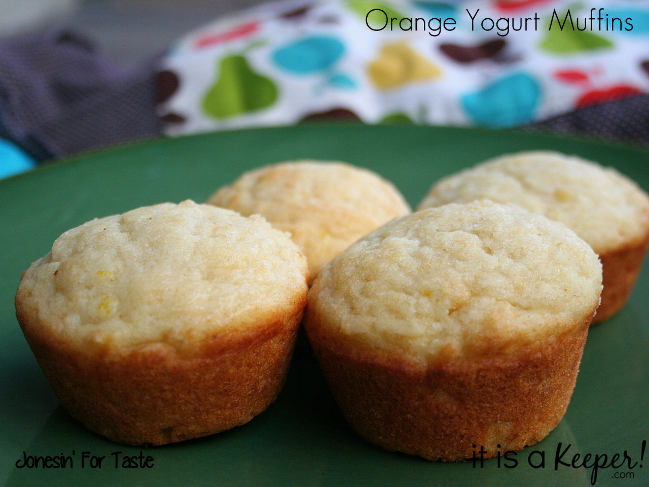 Tangy Orange Yogurt Muffins are an easy breakfast recipe that's ready in 30 minutes.