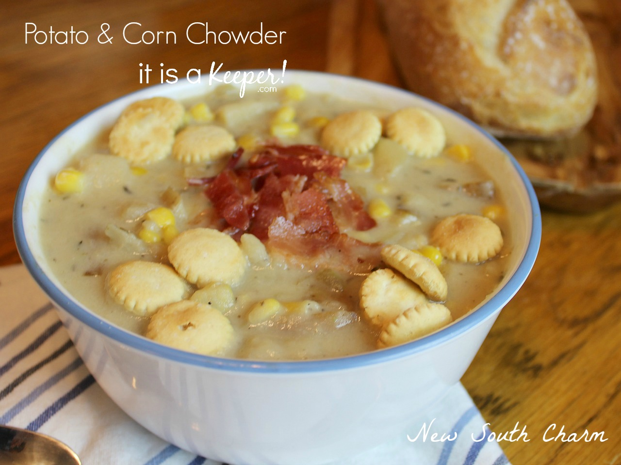 crockpot potato corn chowder