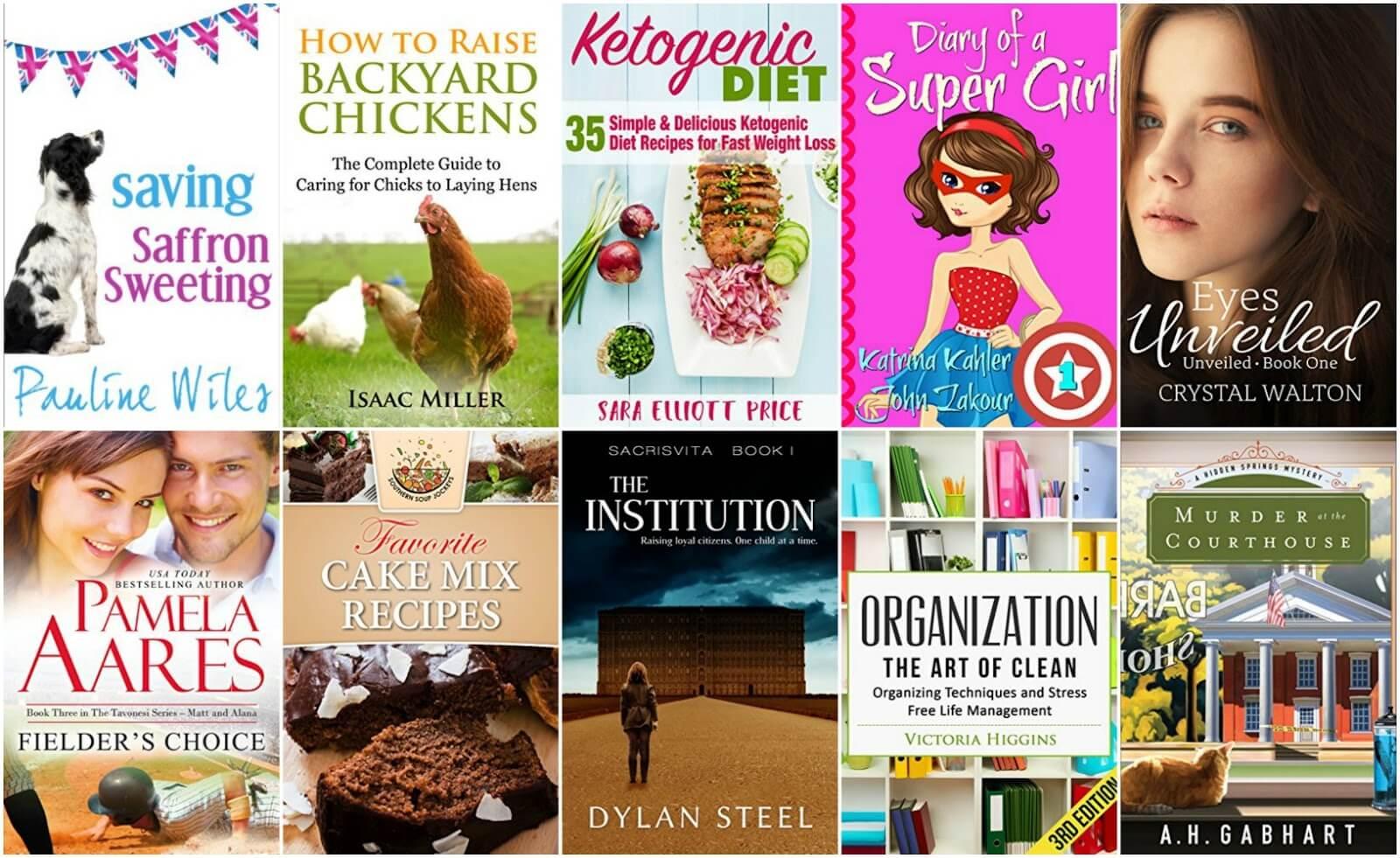 10 Free Kindle Books 2-22-17