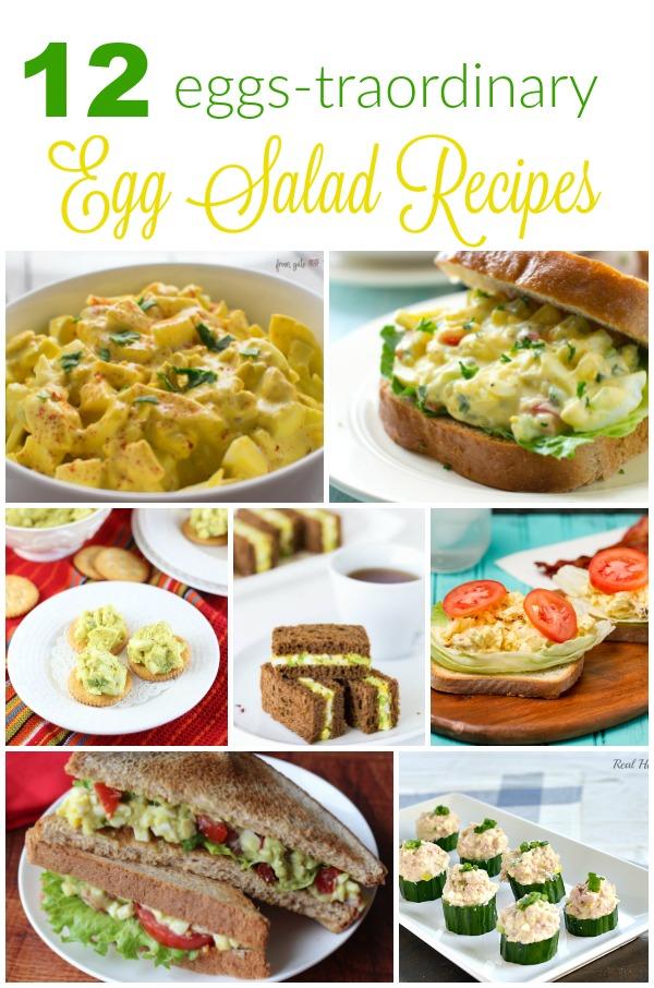12 Egg Salad Recipes