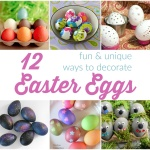 12 Fun Ways to Decorate Easter Eggs