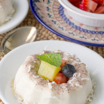Coconut Blancmange
