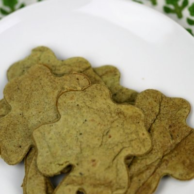 Easy Shamrock Tortilla Chips