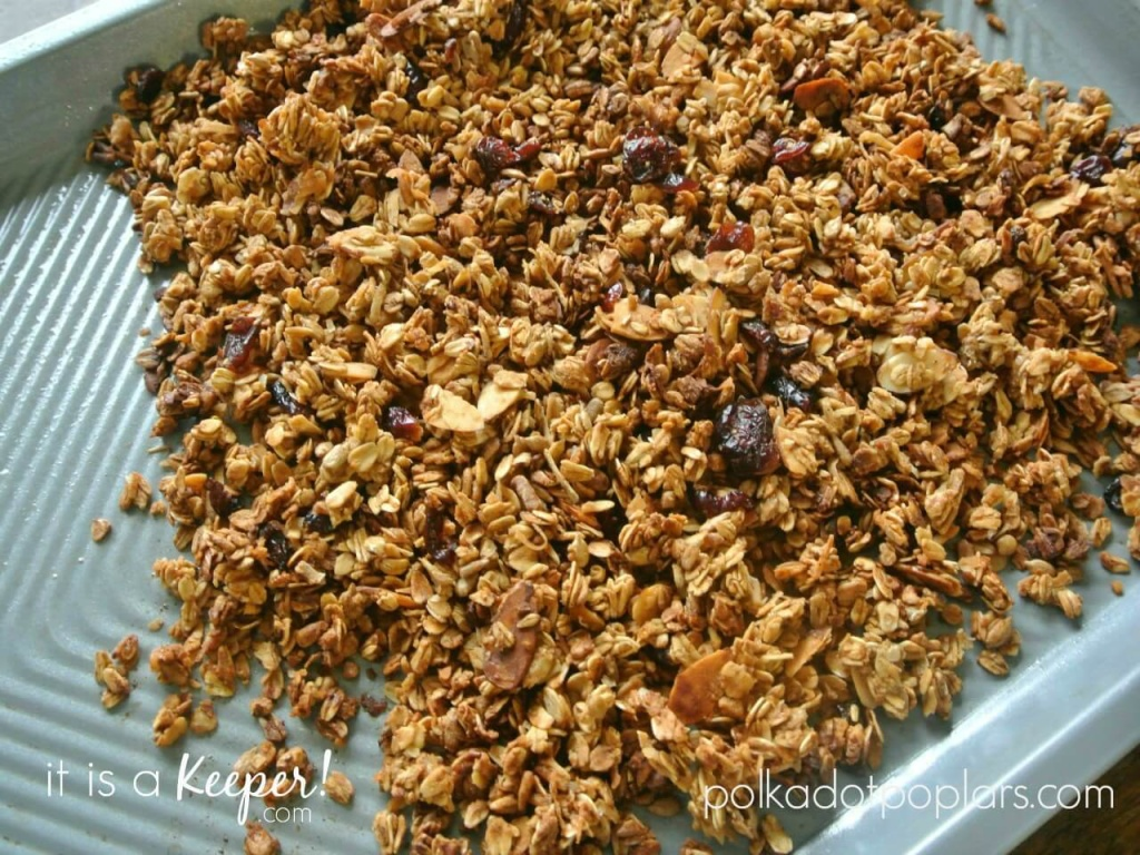 Nutty Granola - This easy recipe makes a great snack or topping for your favorite dessert